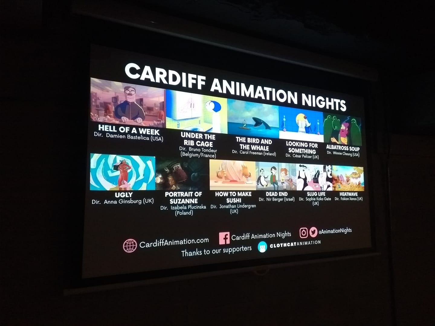 Why Everyone in the South West (And Beyond) Should Attend Cardiff Animation Nights