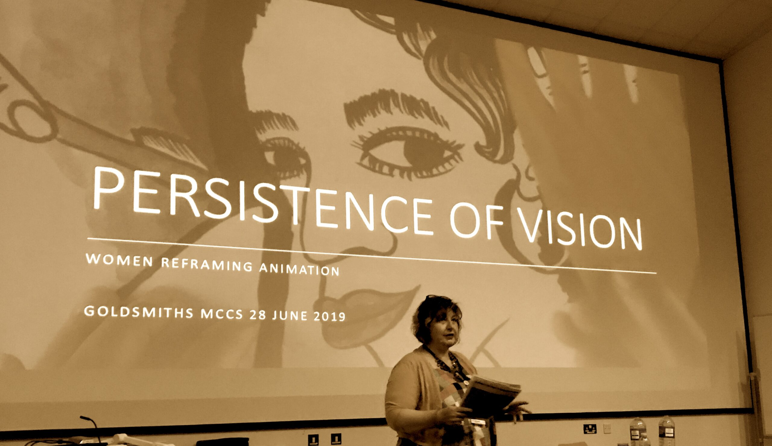 Persistence of Vision: Women Reframing Animation Symposium