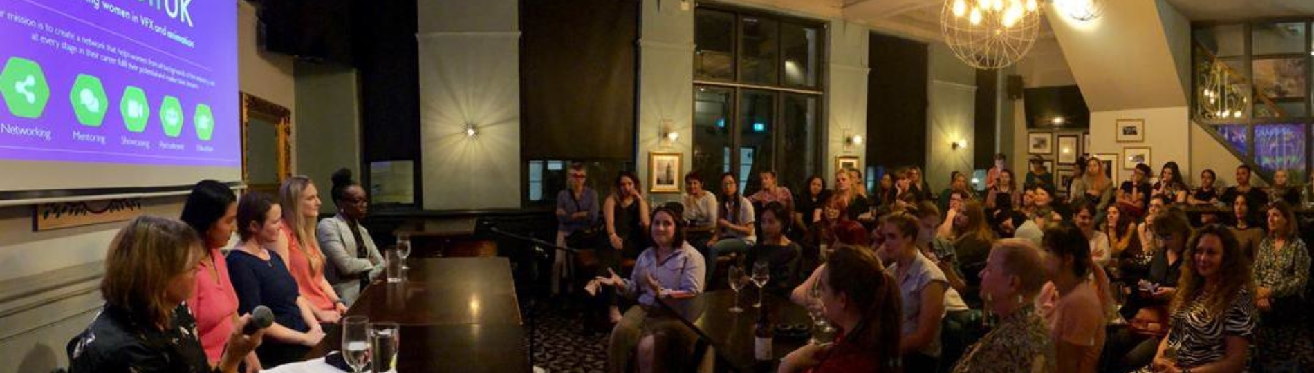 Inspiring insights at the latest Animated Women UK networking event