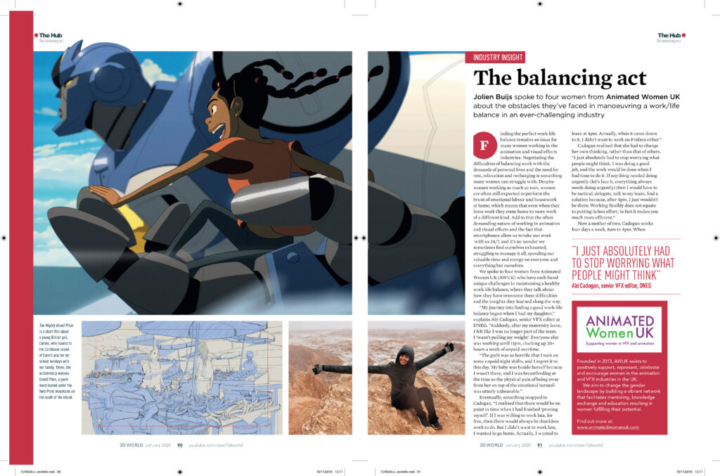 AWUK Work:Life balance - 3D World