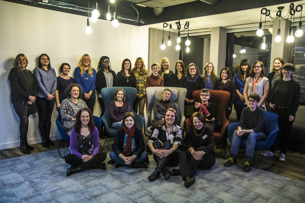 Animated Women UK Achieve Programme Class of 2017